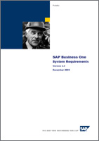 SAP Business One Requeriments