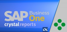 Crystal Reports Dashboard Design para SAP Business One