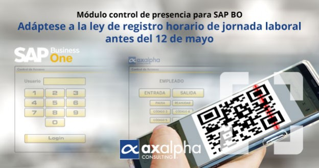 Módulo control de presencia SAP Business One