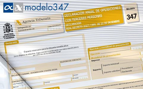 Model 347 module for SAP Business One