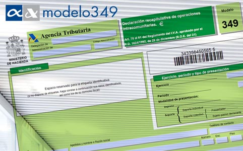 Model 349 para SAP Business One module