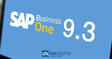 Sap Business One v 9.3